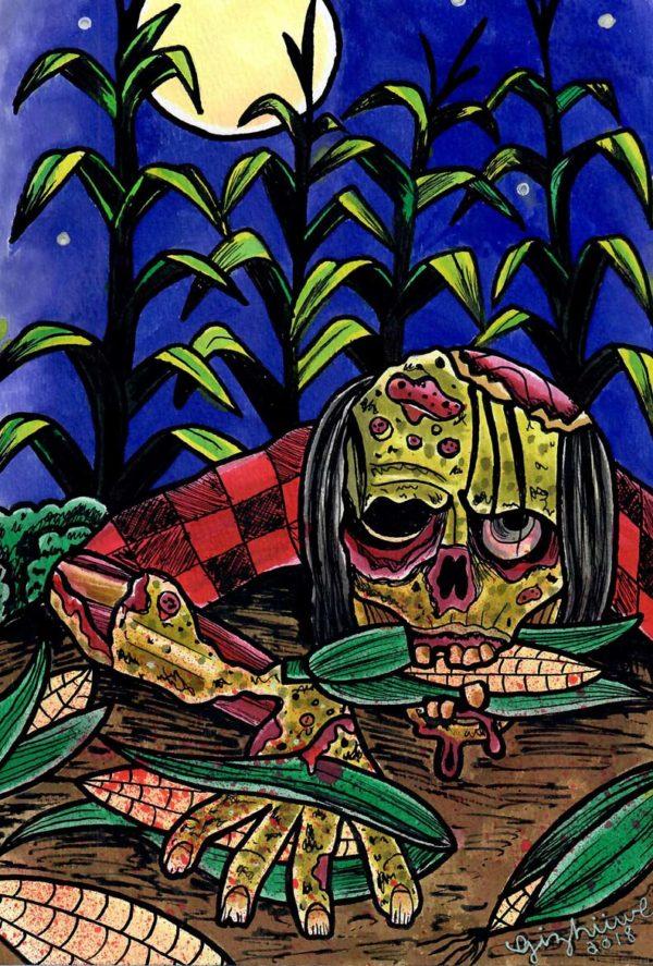 Andrea Gizhiiwe McDonald - Zombie Corn